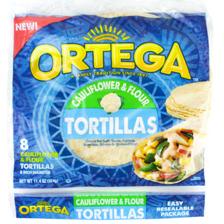 Image of Cauliflower and Flour Tortillas