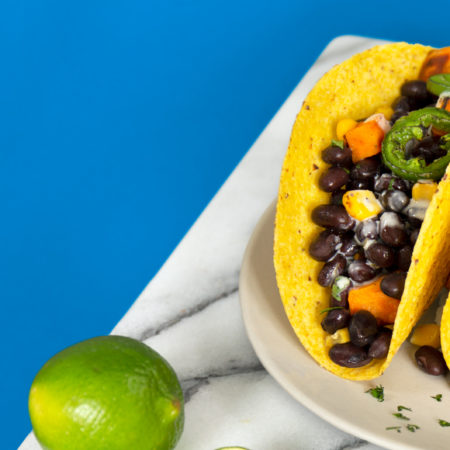 Image of Black Bean Tacos