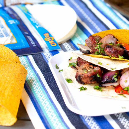 Image of Grilled Kabob Tacos