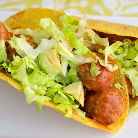 Image of Mexican Meatball Tacos