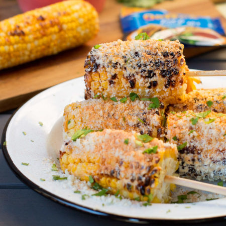 Image of Mexican-Style Grilled Corn