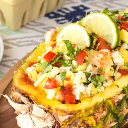Image of Pineapple Jicama Shrimp Ceviche