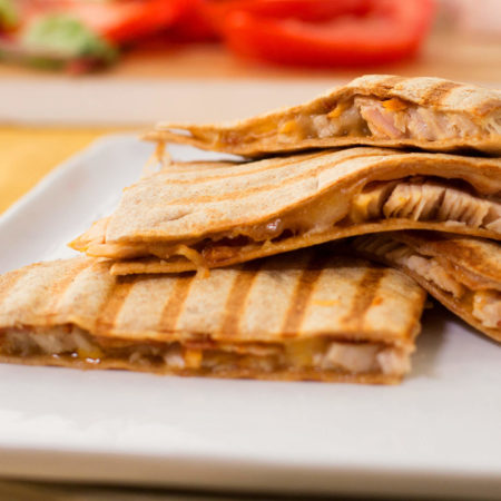 Image of Turkey Club Quesadillas